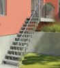 Venkovní schody Gardentop