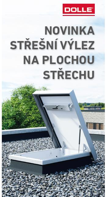 Výlez na plochou střechu